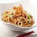 Foto Gebakken Seafood Udon