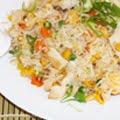 Foto Japanse rijst met kip