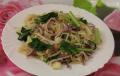 Foto Pho xao chay / Shaked noodles vegetarisch