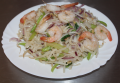 Foto Pho xao tom/ Shaked noodles with shrimp